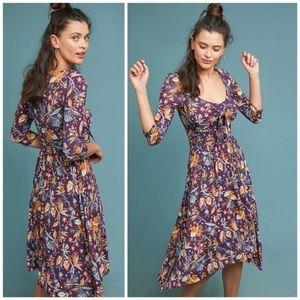Anthropologie Maeve Beloved dress sz M (ф19)